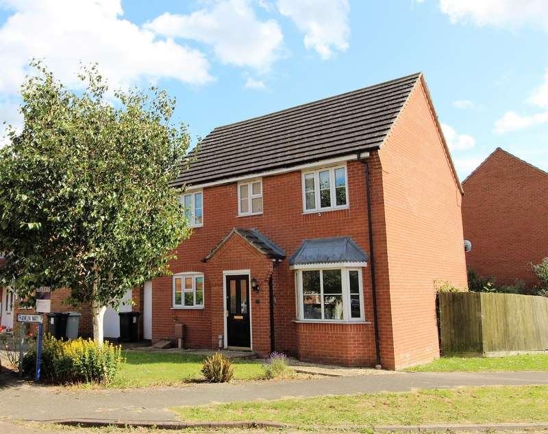 4 Bedrooms Link Detached House for sale in Franklin Way, Spilsby, PE23 5GG