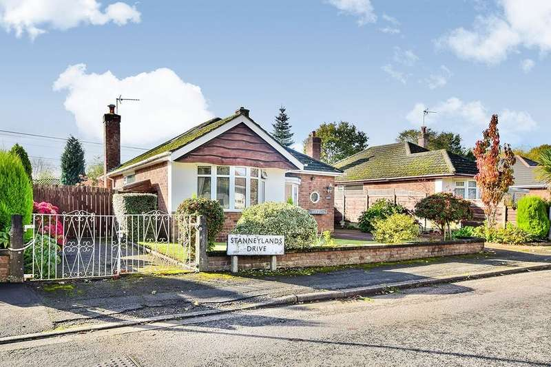 2 Bedrooms Detached Bungalow for sale in Stanneylands Drive, Wilmslow, SK9