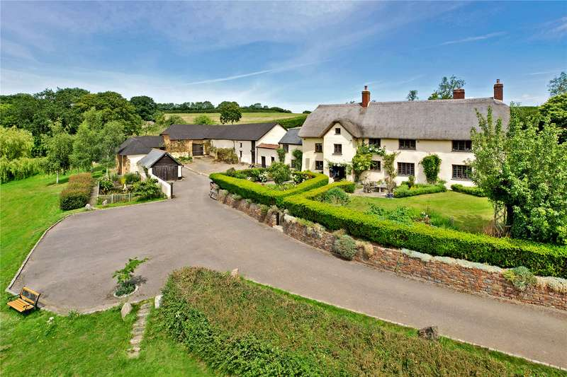 5 Bedrooms Detached House for sale in Yeoford, Crediton, Devon