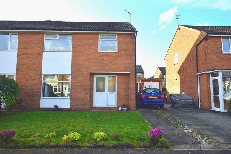 3 Bedrooms Semi Detached House for sale in Mitton Crescent, Kirkham, PR4 2AZ