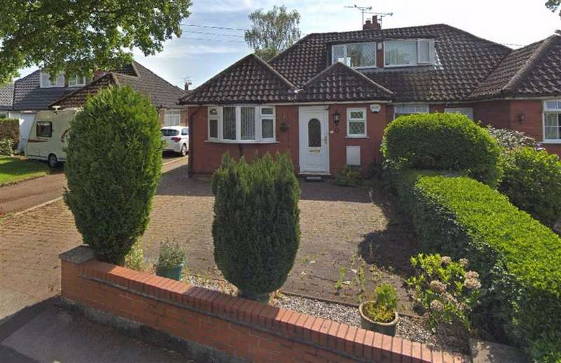 3 Bedrooms Semi Detached Bungalow for sale in Hassall Road, Sandbach, Cheshire