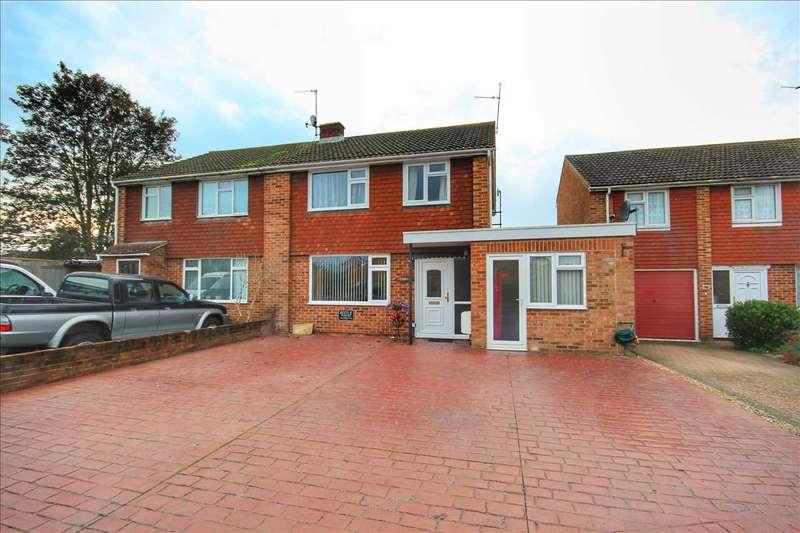4 Bedrooms Semi Detached House for sale in Queensway, Great Cornard