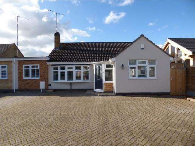3 Bedrooms Detached Bungalow for sale in Ashfield Road, Kenilworth, Warwickshire