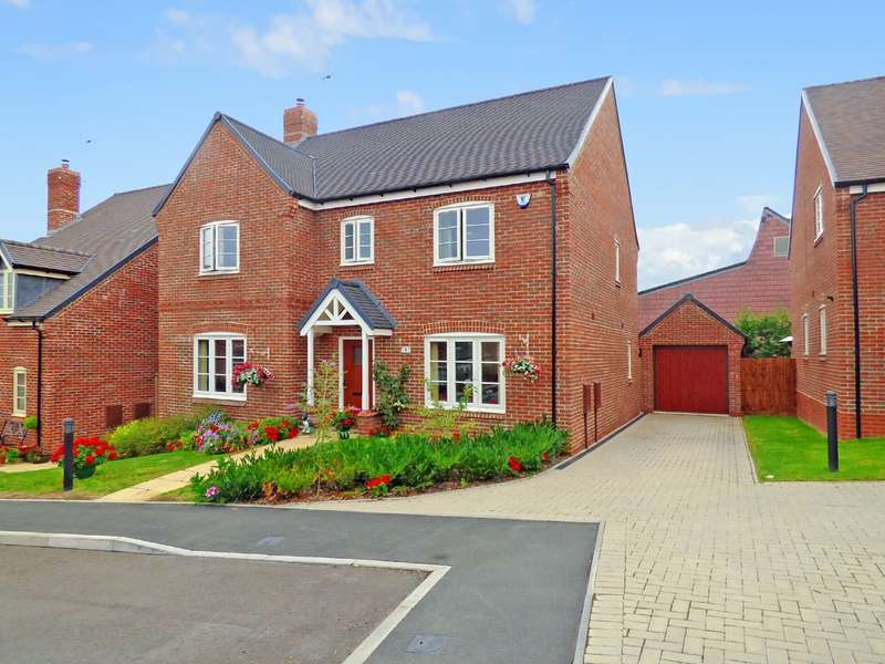4 Bedrooms Detached House for sale in Ivy Close, Abbots Bromley