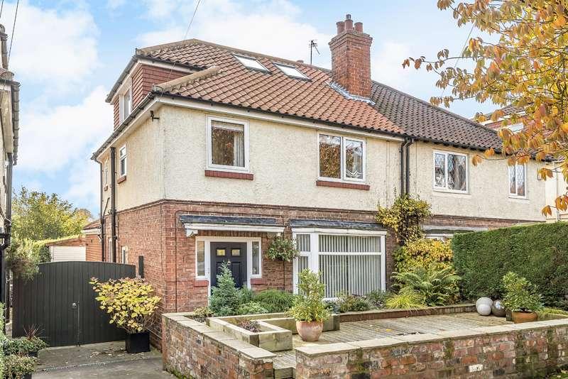 3 Bedrooms Semi Detached House for sale in Kilburn Road, York, YO10 4DE