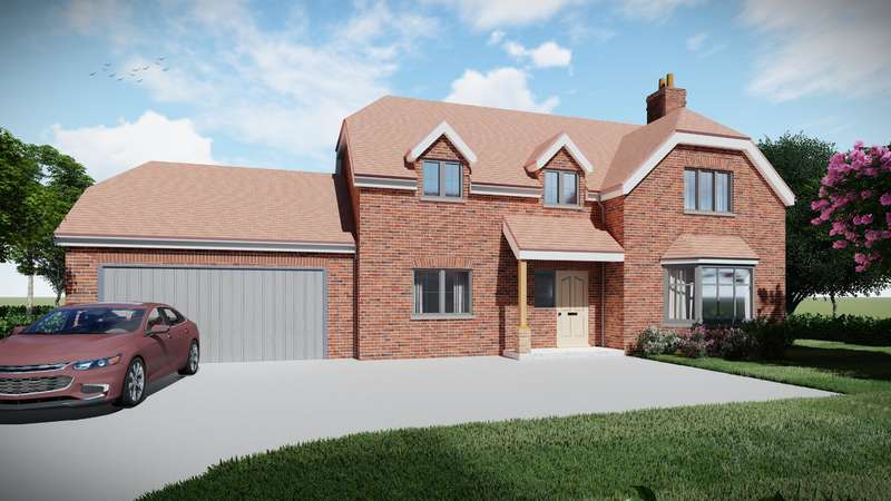 4 Bedrooms Detached House for sale in Plot 6, Highfields, Louth, LN11 9XZ