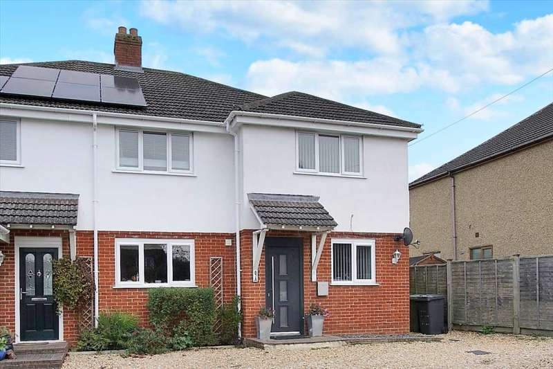 3 Bedrooms Semi Detached House for sale in Micheldever Road, Whitchurch