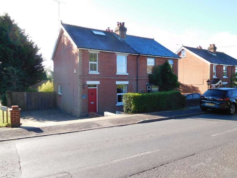 3 Bedrooms Semi Detached House for rent in High Street, Shirrell Heath SO32