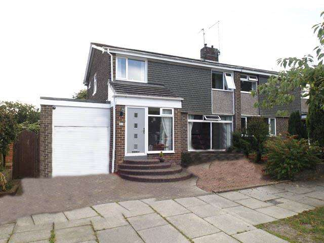 3 Bedrooms Semi Detached House for rent in Abbey Meadows, Morpeth