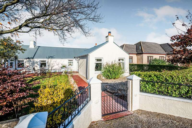 3 Bedrooms Semi Detached Bungalow for sale in 2 Lilac Cottage, Mosstodloch, Fochabers, Morayshire, IV32