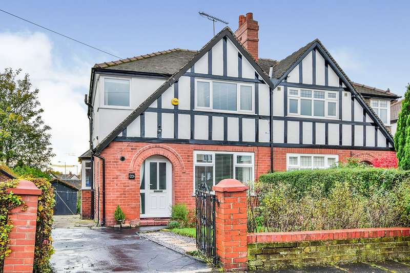 3 Bedrooms Semi Detached House for sale in Tenby Road, Stockport, Greater Manchester, SK3