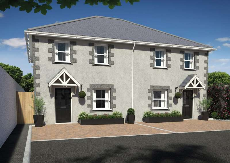 3 Bedrooms Semi Detached House for sale in South Terrace, Camborne
