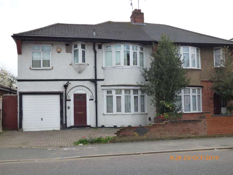 4 Bedrooms Semi Detached House for rent in Bancroft Road, Luton
