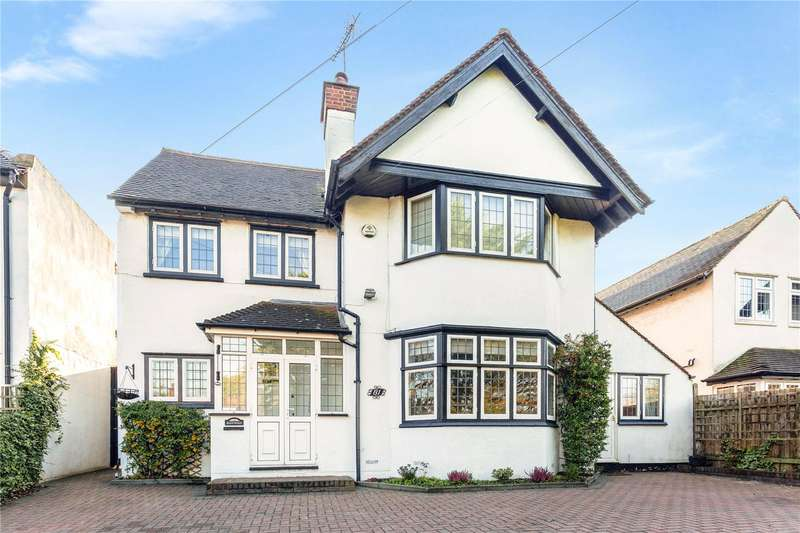4 Bedrooms Detached House for sale in Rickmansworth Road, Watford, Hertfordshire, WD18