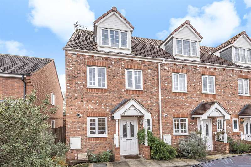 3 Bedrooms End Of Terrace House for sale in Mallard Close, York, YO10 3BS