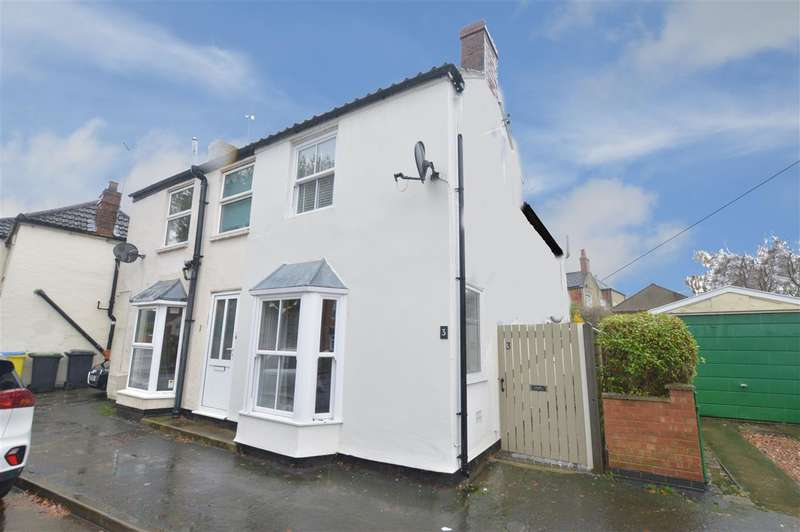 2 Bedrooms Semi Detached House for sale in Eastgate, Heckington, Sleaford