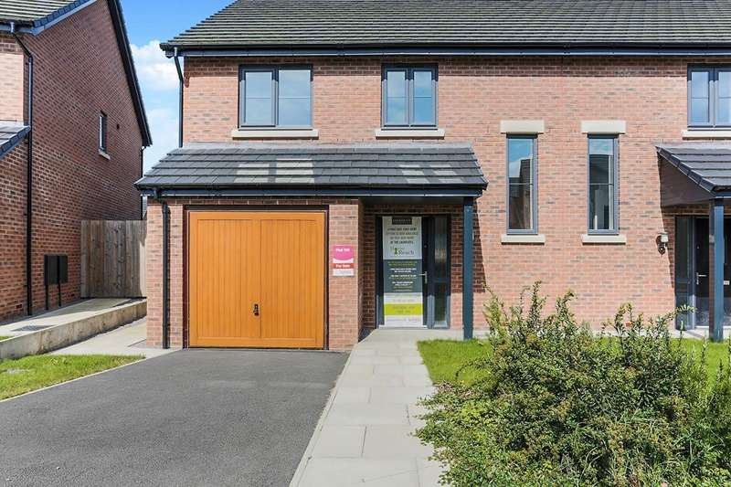 3 Bedrooms Semi Detached House for sale in Laureates Lane, Cockermouth, Cumbria, CA13