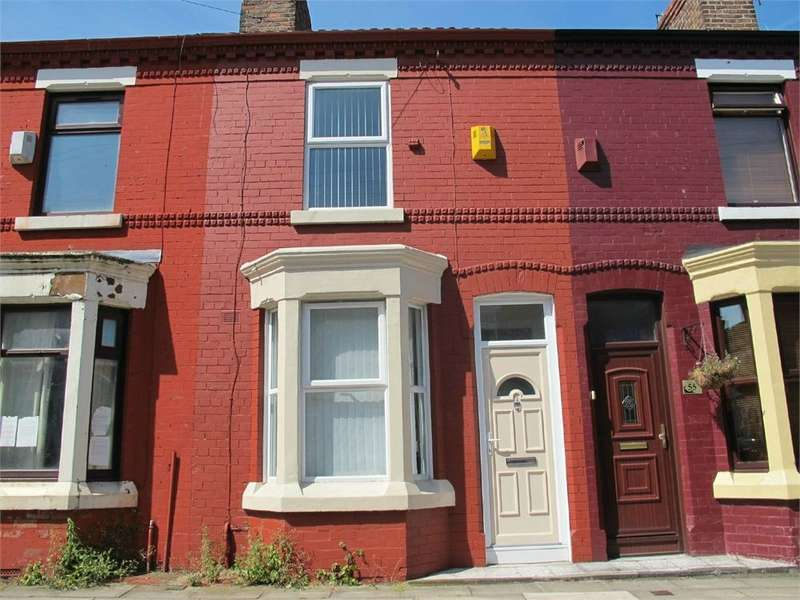 2 Bedrooms Terraced House for rent in Holbeck Street, Anfield, LIVERPOOL, Merseyside