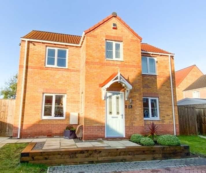 4 Bedrooms Detached House for sale in Magdalene Gardens, Rotherham, South Yorkshire, S63