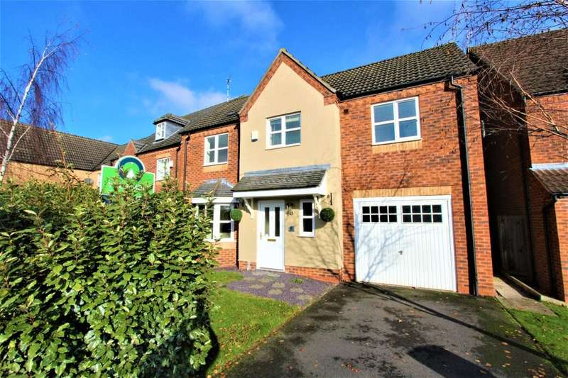 5 Bedrooms Detached House for sale in Deeley Close, Watnall, Nottingham, NG16