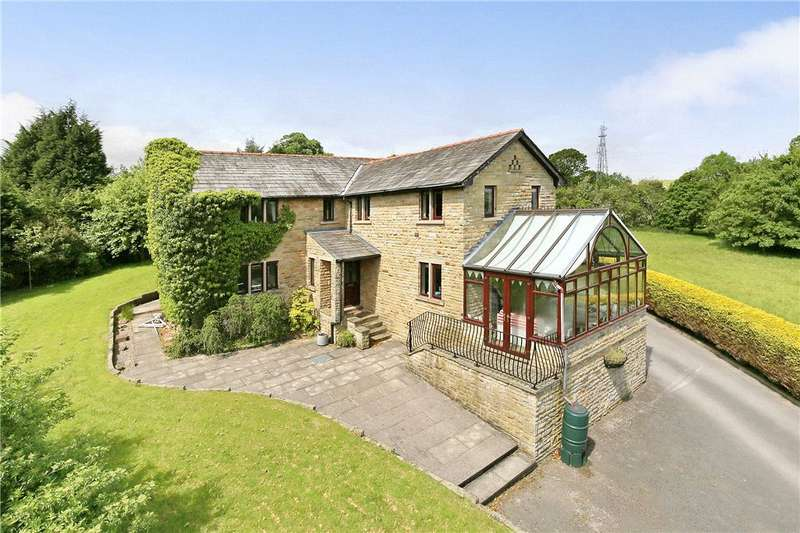 4 Bedrooms Detached House for sale in Hart Rhydding Lane, Addingham, Ilkley, West Yorkshire