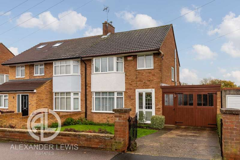 3 Bedrooms Semi Detached House for sale in Old Hale Way, Hitchin, SG5 1XT