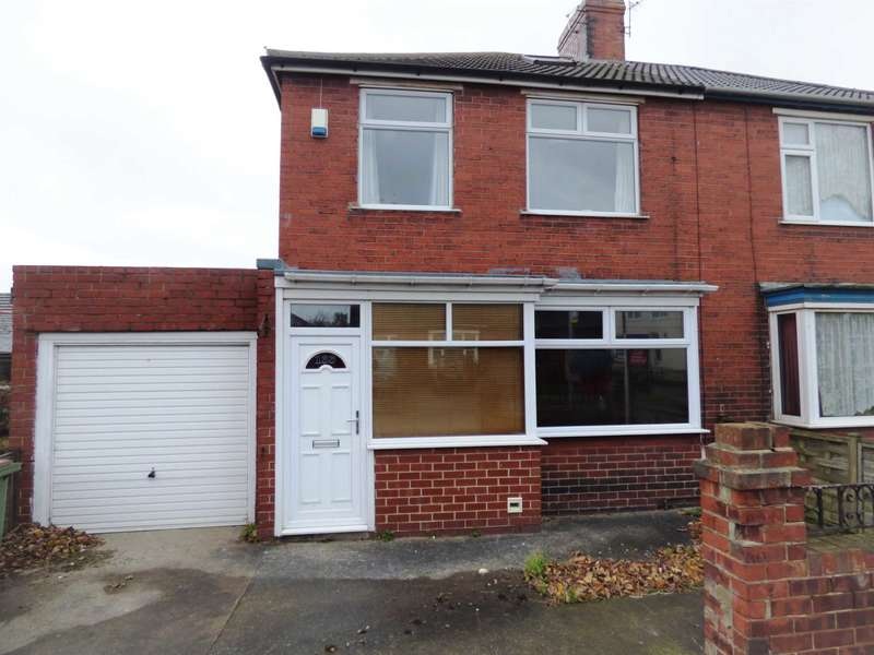 3 Bedrooms Semi Detached House for rent in Laburnum Road, Redcar