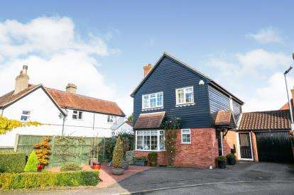 3 Bedrooms Detached House for sale in Lakes Close, Langford, Biggleswade, Bedfordshire