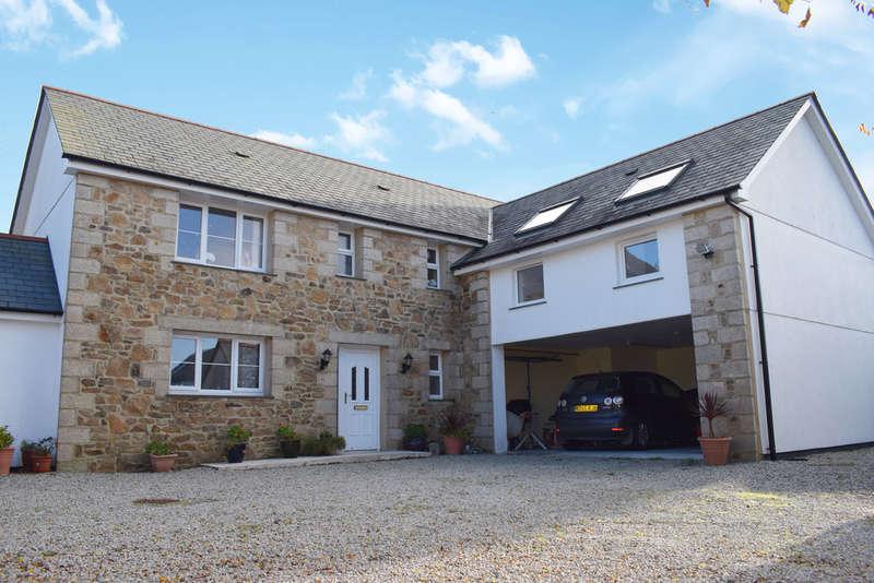 4 Bedrooms Detached House for sale in Kuggar, Ruan Minor, Helston
