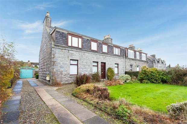 3 Bedrooms Semi Detached House for sale in Victoria Street, Dyce, Aberdeen