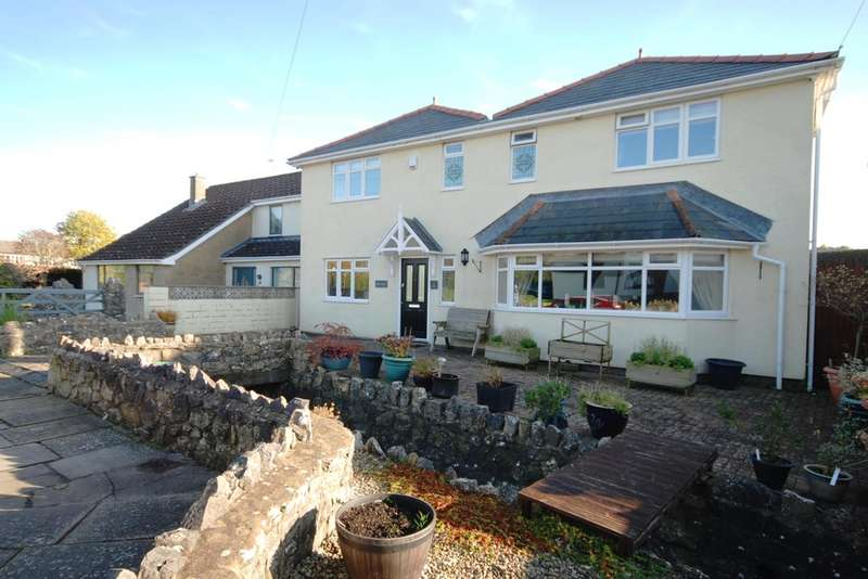 5 Bedrooms Detached House for sale in Tyle House Close, Llanmaes, Near Llantwit Major, Vale of Glamorgan, CF61 2XZ