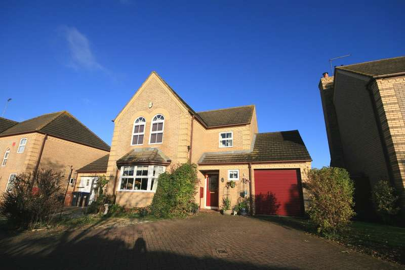 4 Bedrooms Detached House for sale in Ditchford Close, Wootton, Northampton, NN4
