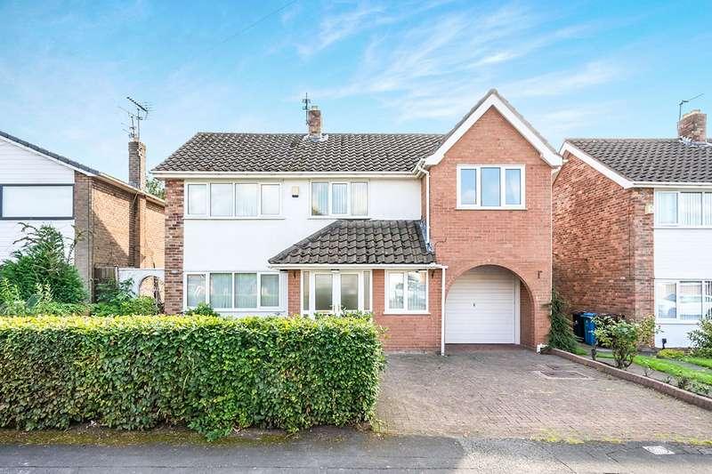 4 Bedrooms Detached House for sale in Longmeadow Road, Knowsley, Prescot, Merseyside, L34