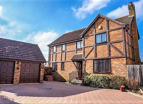 4 Bedrooms Detached House for sale in Bacon Hill, Olney