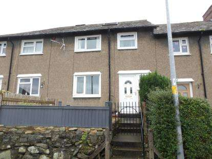 3 Bedrooms Terraced House for sale in Gwynan Road, Penmaenmawr, Conwy, North Wales, LL34