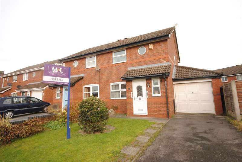 2 Bedrooms Semi Detached House for sale in Sandway, Springfield, Wigan