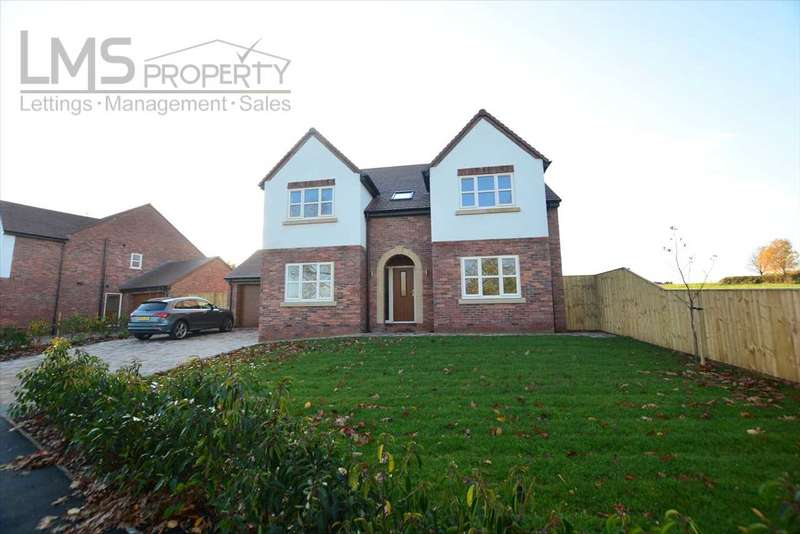 4 Bedrooms Detached House for sale in Bramble Bank, Westbrook Road, Kingsley