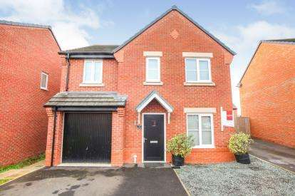 4 Bedrooms Detached House for sale in Gregory Crescent, Winsford, Cheshire