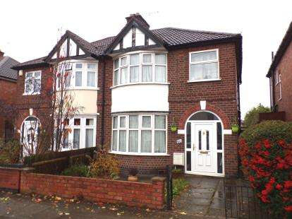 3 Bedrooms Semi Detached House for sale in Stanfell Road, Leicester, Leicestershire