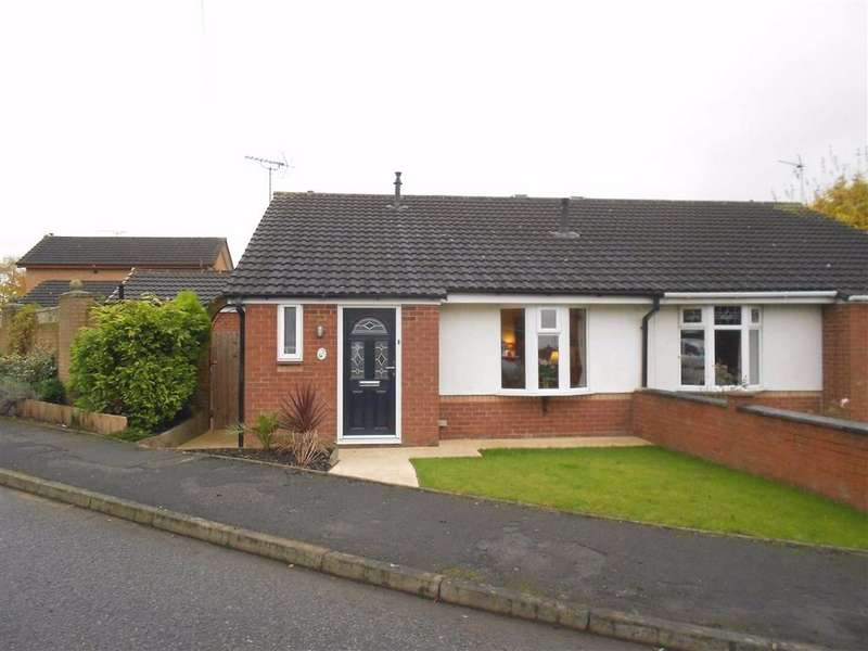 2 Bedrooms Semi Detached Bungalow for sale in Abington Close, Crewe, Cheshire