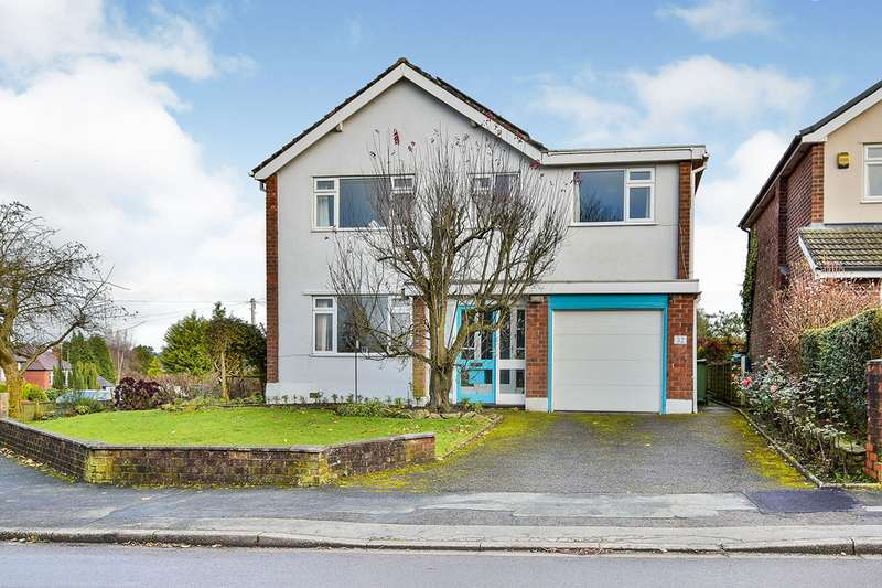 4 Bedrooms Detached House for sale in Hillcrest Road, Gawsworth, Macclesfield, Cheshire, SK11