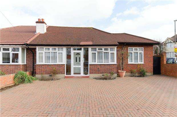 2 Bedrooms Semi Detached Bungalow for sale in Ravensbury Avenue, MORDEN, Surrey, SM4 6ET