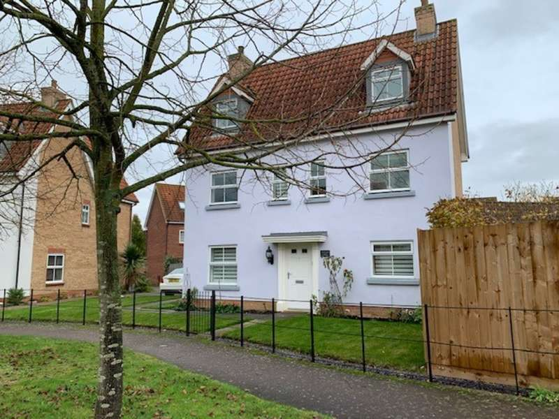 6 Bedrooms Detached House for sale in Wagtail Drive, Bury St Edmunds