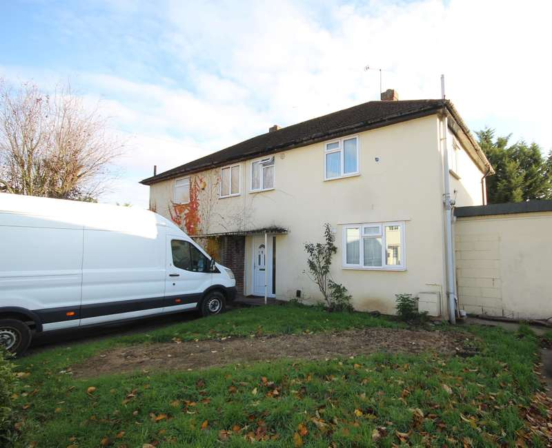 3 Bedrooms Semi Detached House for sale in Rutters Close , West Drayton , UB7 9AL