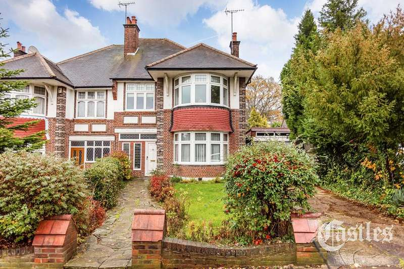 4 Bedrooms Semi Detached House for sale in Beech Drive, East Finchley, London, N2