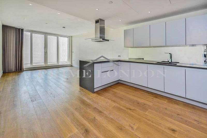 3 Bedrooms Property for sale in Cascade Court, Vista Chelsea Bridge Wharf, London