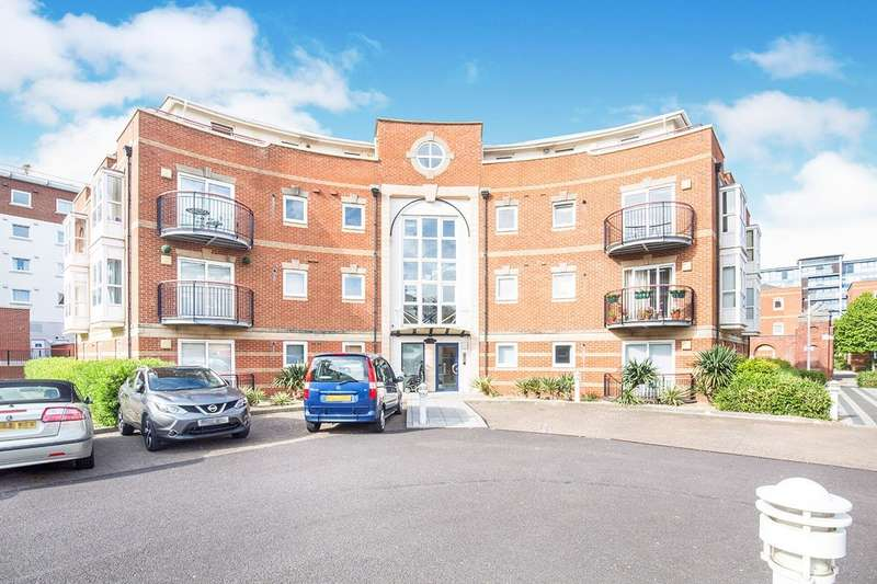 1 Bedroom Apartment Flat for sale in Jupiter Court, Gunwharf Quays, Portsmouth, Hampshire, PO1
