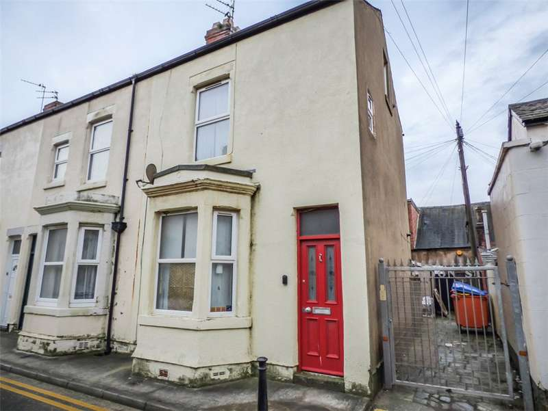 2 Bedrooms End Of Terrace House for sale in Gordon Street, South Shore, Blackpool