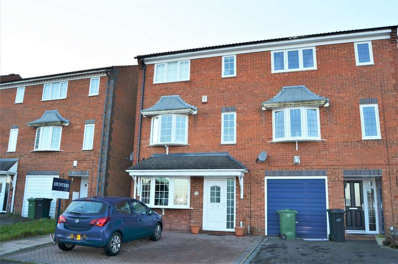 4 Bedrooms Semi Detached House for sale in Strathern Drive, Coseley, Bilston, WV14 9HE