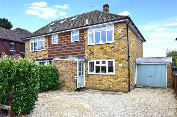 3 Bedrooms Semi Detached House for sale in Lovel Road, Chalfont St Peter, Gerrards Cross, Buckinghamshire